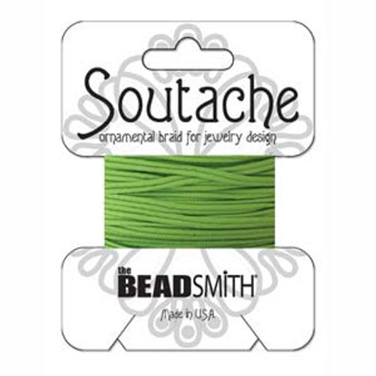 Soutache Rayon Braided Cord (Limelight)