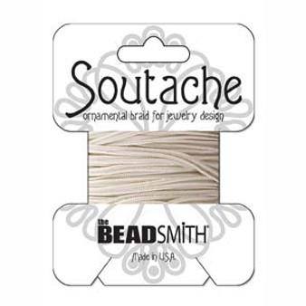 Soutache Rayon Braided Cord (Linen)
