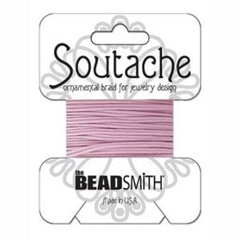 Soutache Rayon Braided Cord (Mauve)
