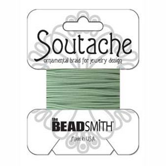 Soutache Rayon Braided Cord (Mint)