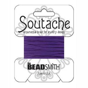 Soutache Rayon Braided Cord (Pansy)