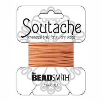 Soutache Rayon Braided Cord (Peach)