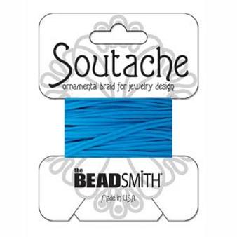 Soutache Rayon Braided Cord (Peacock Blue)