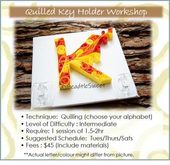 Quilling Course: Key Holder Workshop