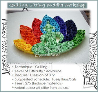 Quilling Course: Sitting Buddha Workshop
