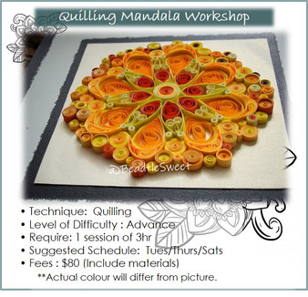 Quilling Course: Mandala Workshop