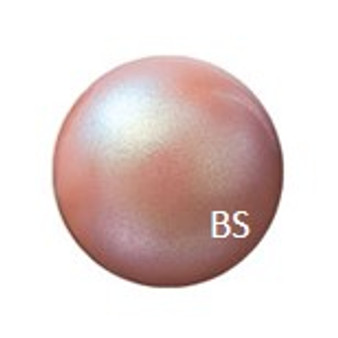 6mm Preciosa Round Pearl Maxima Pearlescent Pink Pearls