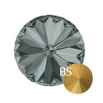 6mm Preciosa 436 11 177  MC Rivoli Black Diamond(ss29)