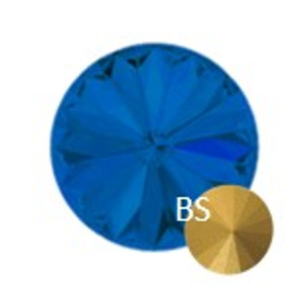 6mm Preciosa 436 11 177  MC Rivoli Capri Blue(ss29)