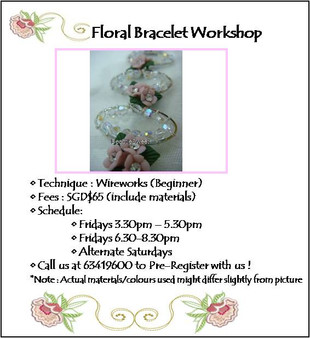 Jewelry Making Course: Floral Bracelet Workshop