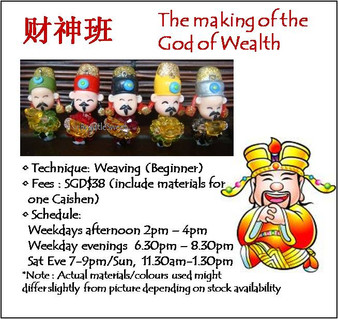 Jewelry Making Course: The Making of the God of Wealth