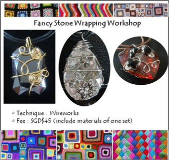 Jewelry Making Course: Fancy Stone Wrapping Workshop