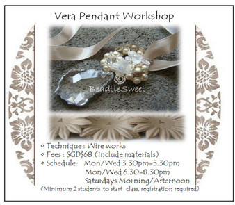 Jewelry Making Course: Vera Pendant Choker Workshop