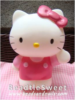 Kitty Decoden: Super 3D plush toy decobase
