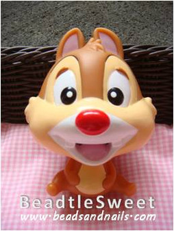 Chipmunk Decoden: Super 3D plush toy decobase