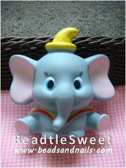 Elephant Decoden: Super 3D plush toy decobase