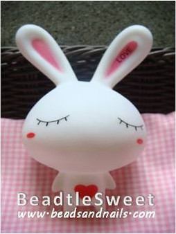 Rabbit Decoden: Super 3D plush toy decobase