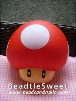 Mario Mushroom Decoden: Super 3D plush toy decobase