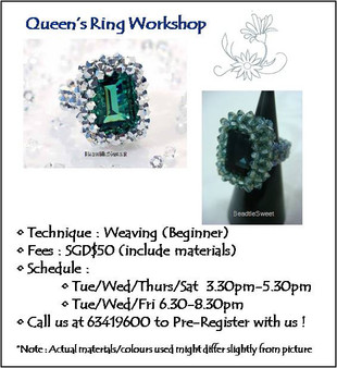 Jewelry Making: Queen's Ring Workshop