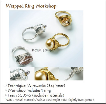 Jewelry Making: Wrapped Ring Workshop