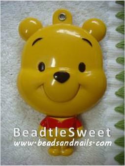 Pooh Sliding Mirror Decoden