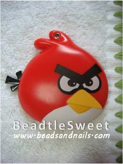 Angry Bird Sliding Mirror Decoden