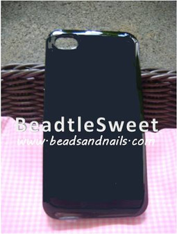 Black Iphone 4GS Cover