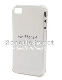 Crystal Clear Transparent Iphone 4GS Cover