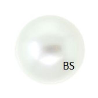 14mm Swarovski 5811 White Large Hole Pearls