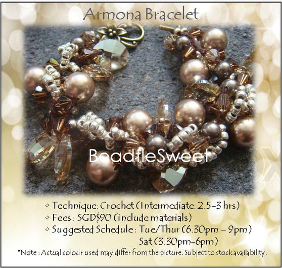 Jewelry Making Course : Armona Bracelet Workshop