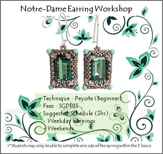 Jewelry Making Course : Notre Dame Workshop