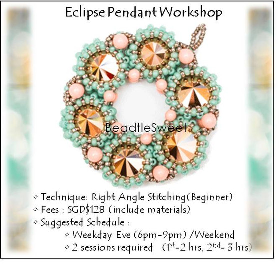 Jewelry Making Course : Eclipse Pendant Workshop