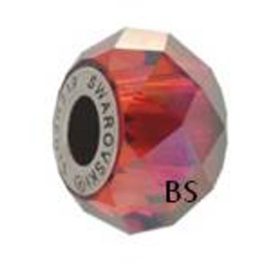 Swarovski BeCharmed Bead 5948 Crystal Red Magma