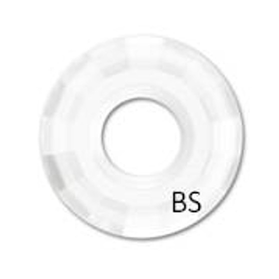 25mm Swarovski 6039 Crystal Disk Pendant
