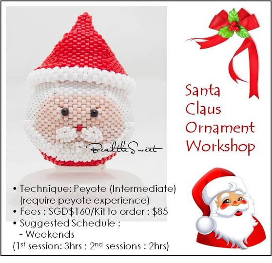 Jewelry Making Course : Santa Ornament Workshop
