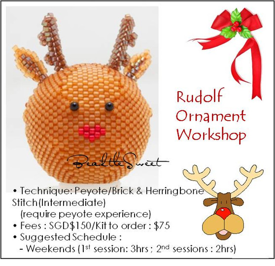 Jewelry Making Course : Rudolf Ornament Workshop