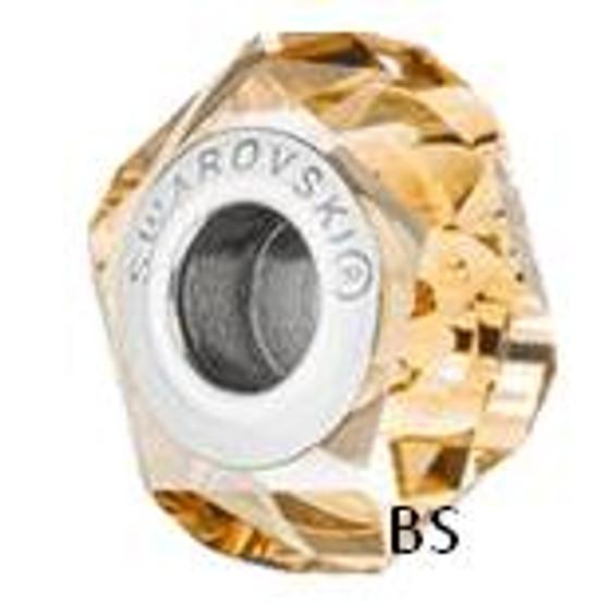 Swarovski BeCharmed Fortune Bead 5929 Crystal Golden Shadow
