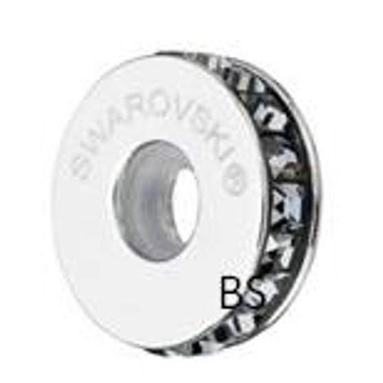 Swarovski BeCharmed Pave Stopper 81001 Black Diamond