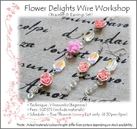 Jewelry Making: Flower Delights Wire Workshop