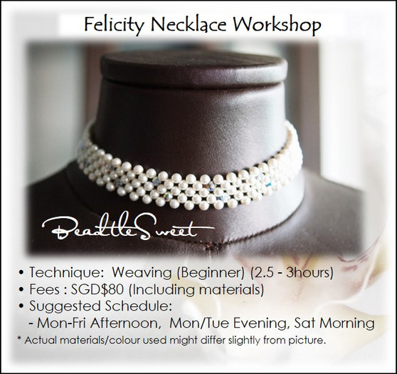 Jewelry Making : Felicity Necklace Workshop for Bridal Party