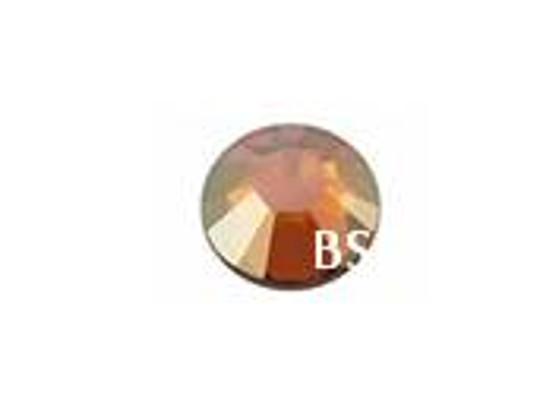 Swarovski 2028 Crystal Copper Flat Back ss20 nhf
