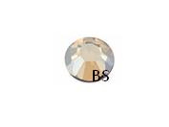 Swarovski 2058 Crystal Golden Shadow Flat Back ss16 nhf