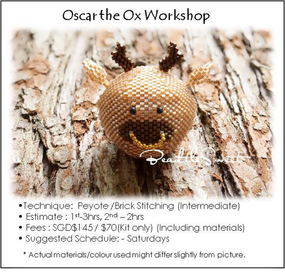 Jewelry Making Course : Oscar the Ox Workshop