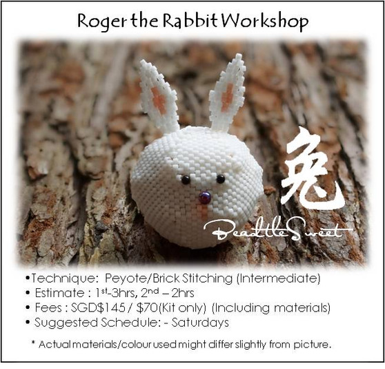 Jewelry Making Course : Roger the Rabbit Workshop