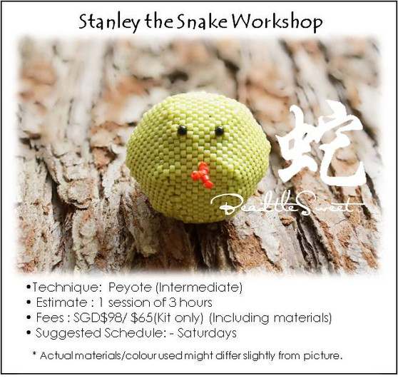 Jewelry Making Course : Stanley the Snake Workshop