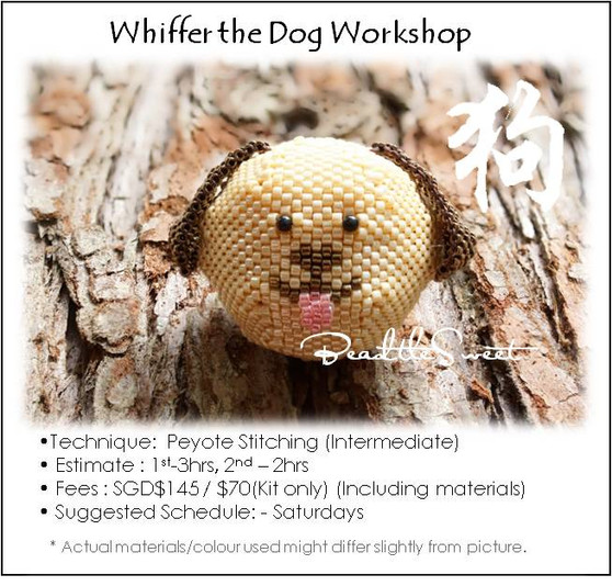 Jewelry Making Course : Whiffer the Dog Workshop