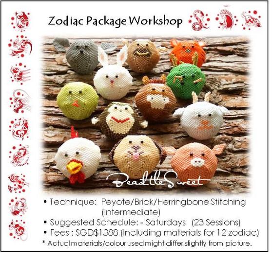 Jewelry Making Course : 12 Zodiac Animals Workshop