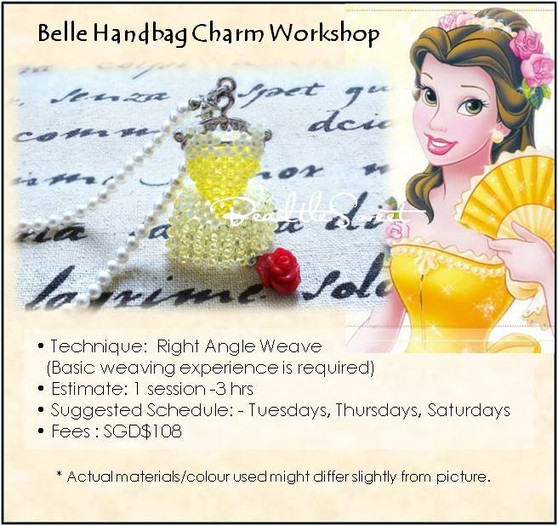 Jewelry Making Course : Belle Handbag Charm Workshop
