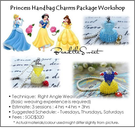 Jewelry Making Course : Princess Handbag Charms Package Workshop