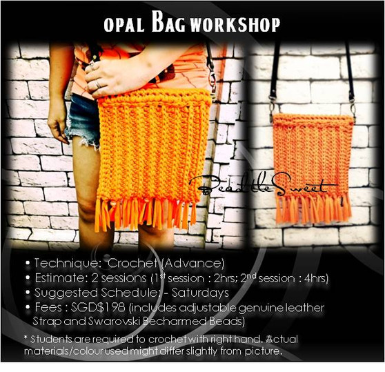 Bags Crochet Course: Opal Bag Workshop